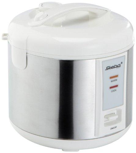 Steba RK 2 Reiskocher | 3,5 Liter Inhalt | Scharnierter Deckel mit...