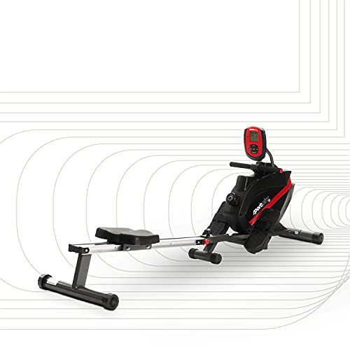SportPlus Rudergerät klappbar für zuhause - 8 Stufen, leises &...