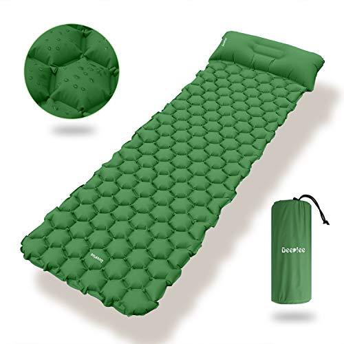 Deeplee Camping Isomatte,Einzelne Schlafmatte Ultraleichte Isomatte...