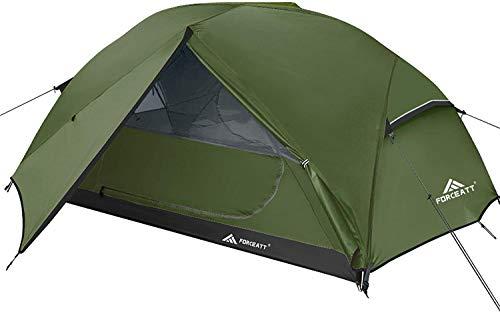 Forceatt Zelt 2-3 Personen Camping Zelt, 2 Doors Wasserdicht &...