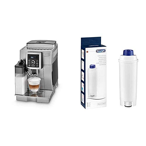 De'Longhi ECAM 23.466.S Kaffeevollautomat mit Milchsystem, Großer 1,8...