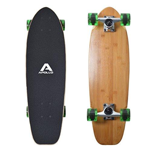 Apollo Mini-Longboard, toller Midi Cruiser als Komplett-Board, 70cm...