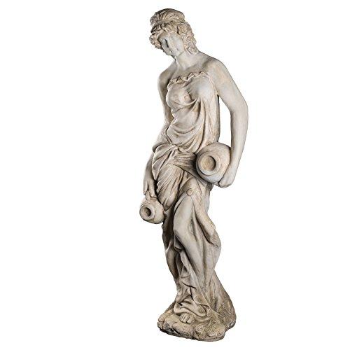 Wetterfeste Riesige XXL schwere (18 kg) Statue antike Wassertägerin...