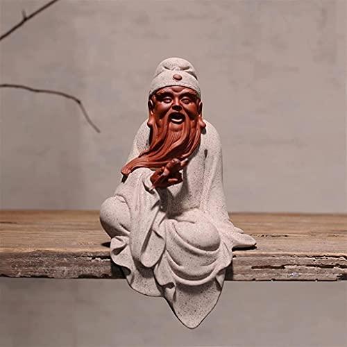 WQQLQX Statue Lila Sandkulptur Statue Dekoration Zubehör Handkräfter...