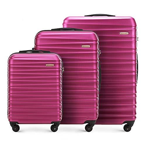 WITTCHEN Koffer – Set of 3   hartschalen, Material: ABS  ...