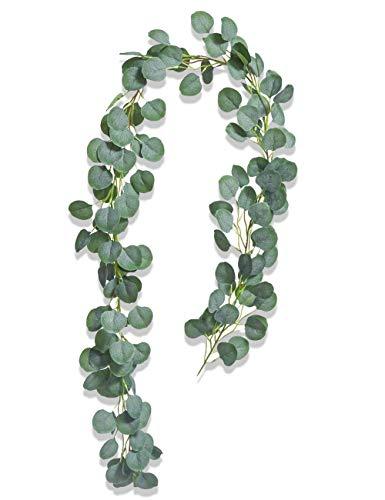 Eukalyptus Girlande Künstlich Pflanze, Eukalyptus Blätter Deko...