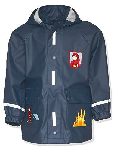 Playshoes Jungen Regen-mantel Feuerwehr productclothing, Marine, 116...