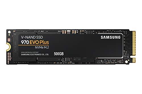 Samsung 970 EVO Plus 500 GB PCIe 3.0 (bis zu 3.500 MB/s) NVMe M.2...