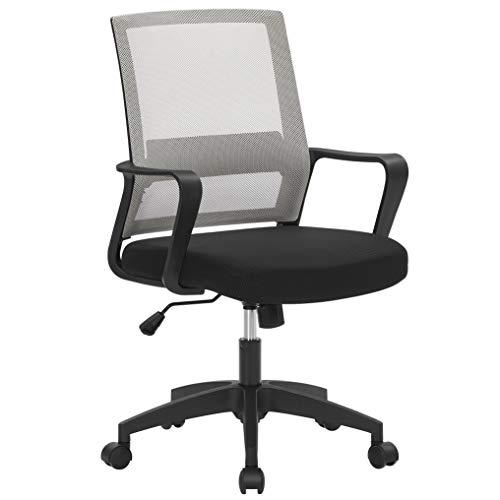 SONGMICS Bürostuhl, Schreibtischstuhl, drehbar, höhenverstellbarer...