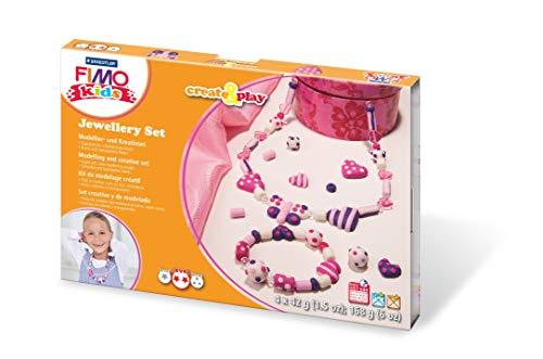 STAEDTLER 8033 01 Fimo kids create&play Set Jewellery ofenhärtend,...