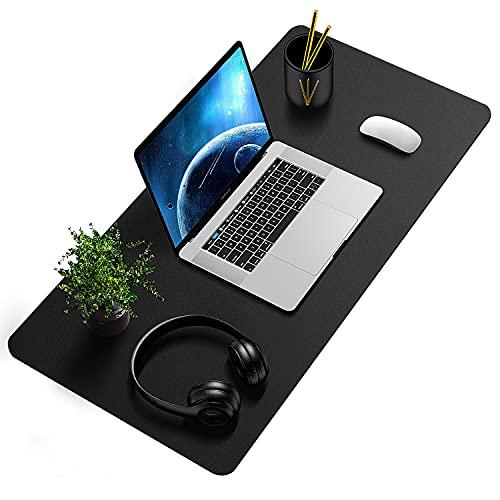 SYOSIN Schreibtischunterlage, 80 x 40 cm PU-Leder Multifunktionale...