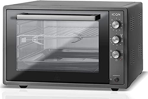 ICQN 60 Liter XXL Minibackofen | 1800 W | Umluft | Pizza-Ofen |...
