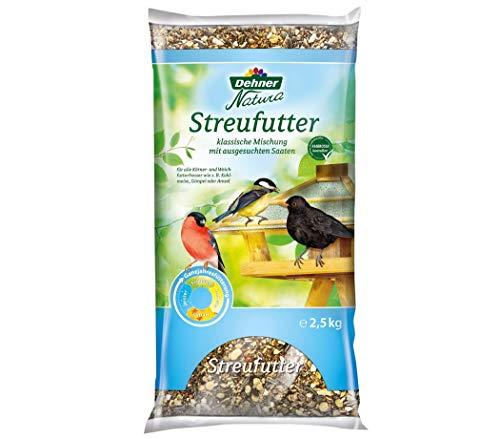 Dehner Natura Wildvogelfutter, Streufutter, 2.5 kg