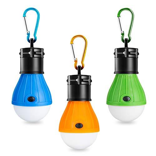 Winzwon Campinglampe, LED Camping Laterne, Tragbare Zeltlampe Laterne...