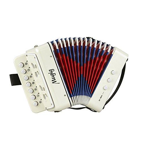 Mugig Akkordeon Ziehharmonika Solo und Tasteninstrument Harmonika für...