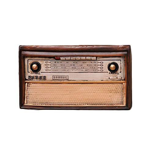 Altes Radiomodell Antiker Stil Harz Retro Dekoration Handwerk...