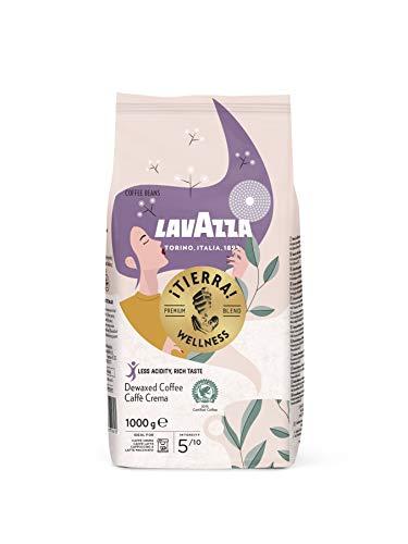 Lavazza ¡Tierra! Wellness, 1kg Packung, 80% weniger Koffein, Arabica-...