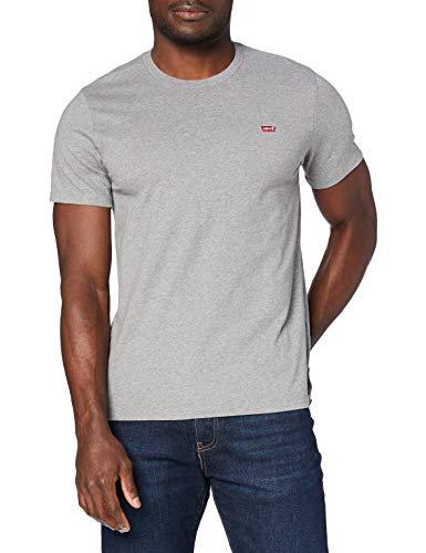 Levi's Herren SS Original Hm Tee T-Shirt, Chisel Grey Heather, L