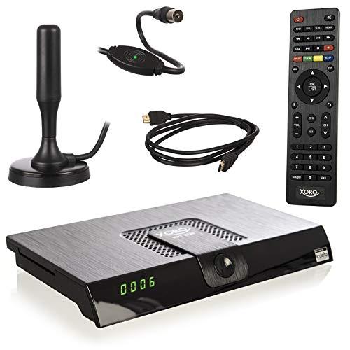 Xoro HRT 8720 KIT DVB-T2 Receiver (HDTV, 6 Monate freenet TV, PVR,...