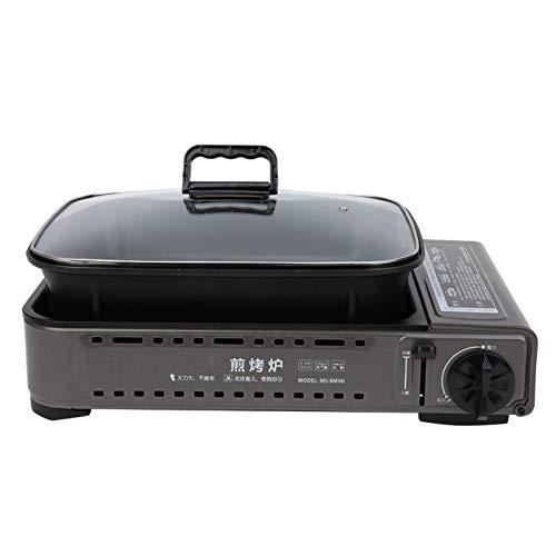 SALUTUYA Mini-Ofen Kassettenofen Integration Kassette BBQ Grill BBQ...