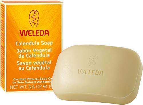 WELEDA Calendula Pflanzenseife, vegane Naturkosmetik Seife mit...