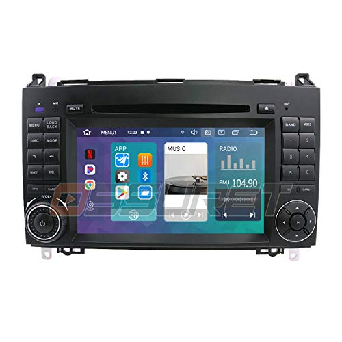Android 10 Auto GPS Navigation Bluetooth 2 Din Auto Multimedia System...