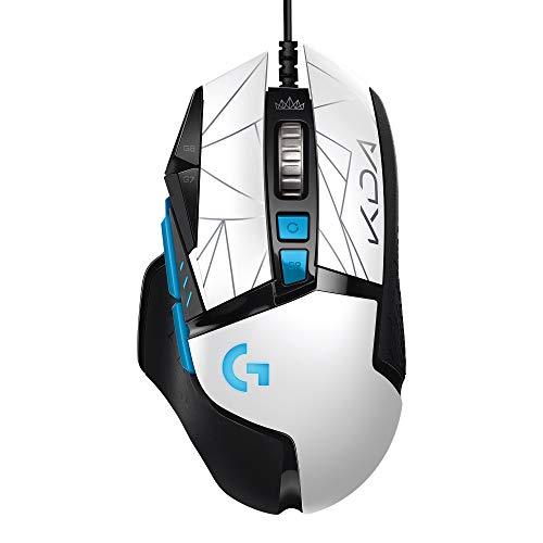 Logitech G502 HERO K/DA High Performance Gaming-Maus mit Kabel, HERO...