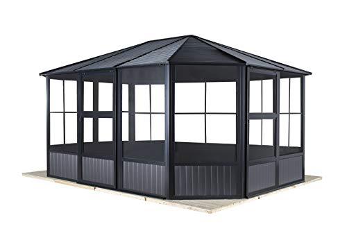 Sojag Aluminium Pavillon, Gartenlaube & Wintergarten Charleston //...