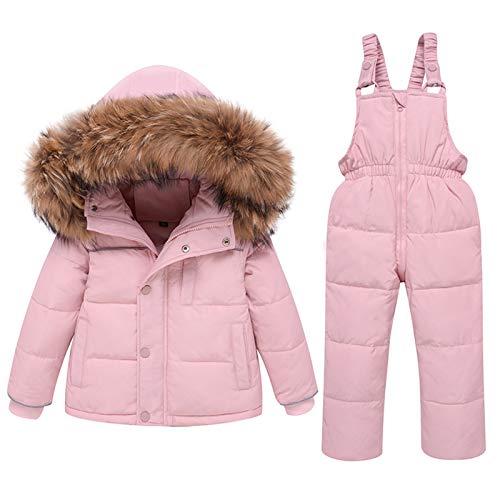 YaGFeng Winter Baby Boy Daunenjacke Verdicken Warm Boy Workwear Hooded...