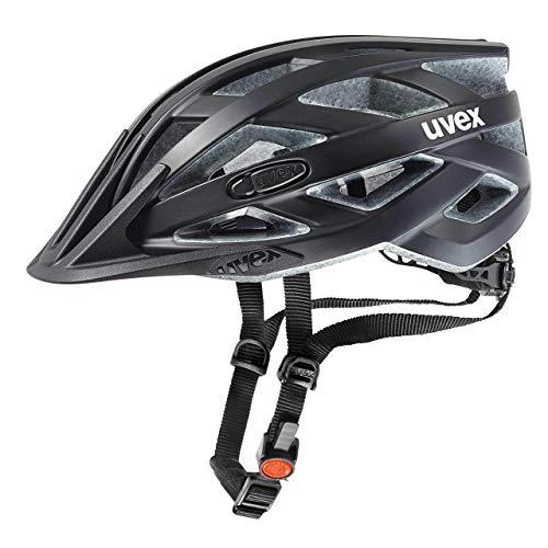 UVEX Erwachsene Fahrradhelm I-VO CC, schwarz (Schwarz (Black Mat)),...