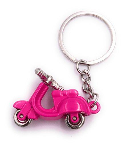 H-Customs Motorroller Roller pink Anhänger besonderer...