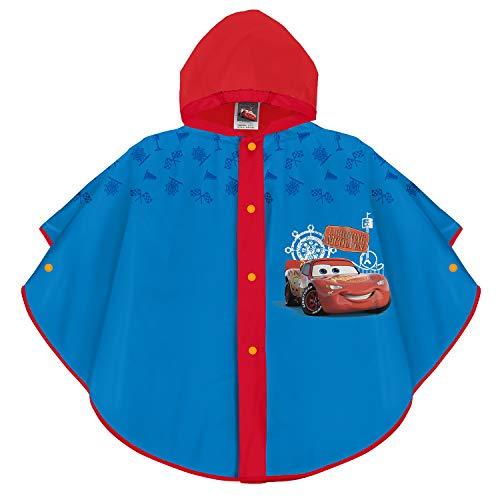 PERLETTI Disney Cars Regen Cape für Kinder - Lightning McQueen...