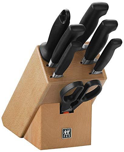 ZWILLING Messerblock, 8-tlg., Holzblock, Messer und Schere aus...