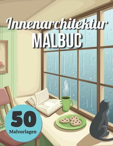 Innenarchitektur Malbuc 50 Malvorlagen: Erwachsenen Malbuch mit...