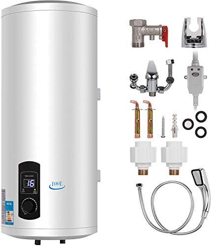 Anciun 120L Elektrospeicher Warmwasserspeicher Boiler, Wandhängender...