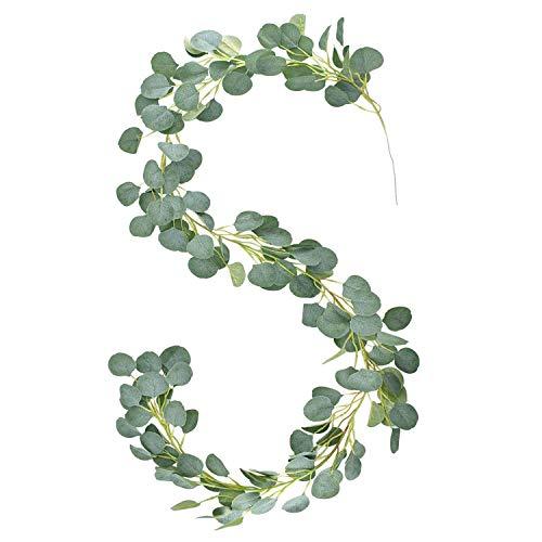 E-Bestar Eukalyptus Girlande Künstlich Pflanz Greenery Künstliche...