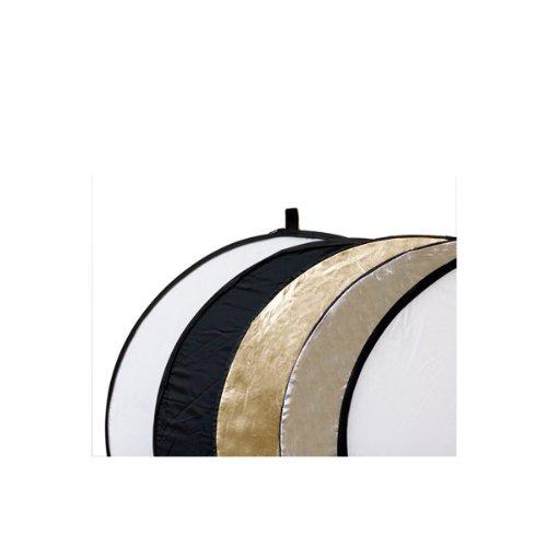 Delamax 5in1 Faltreflektoren Set - 55cm - Gold, Silber, schwarz, weiß...