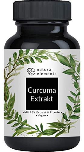 Curcuma Extrakt Kapseln (90 Kapseln) - Curcumingehalt EINER Kapsel...
