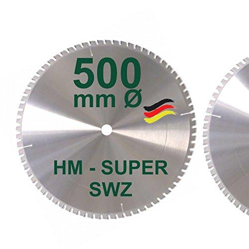 HM Kreissägeblatt 500 x 30 Z= 72 SWZ SUPER nagelfest Sägeblatt 500mm...