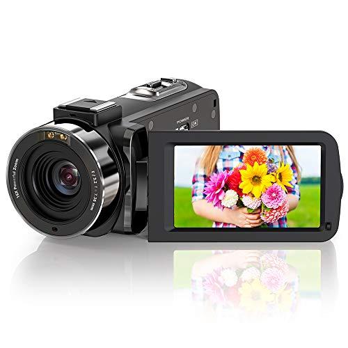 ZORNIK Camcorder, IR Night Vision Video Camera HD 1080P 36MP 16X...