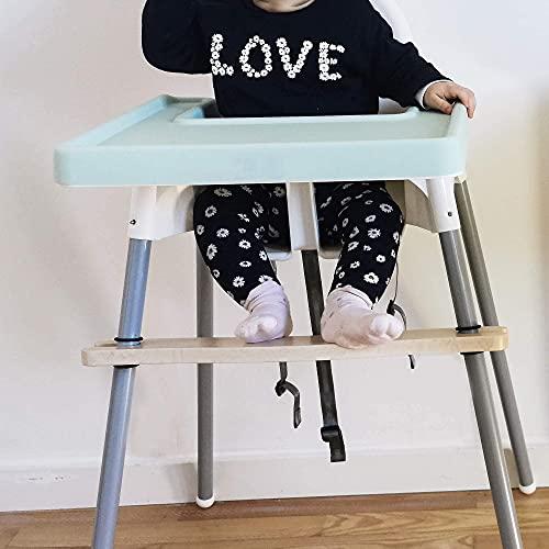 Baby Silikonmatte für IKEA Hochstuhl   Silikon Einlage wasserfest &...