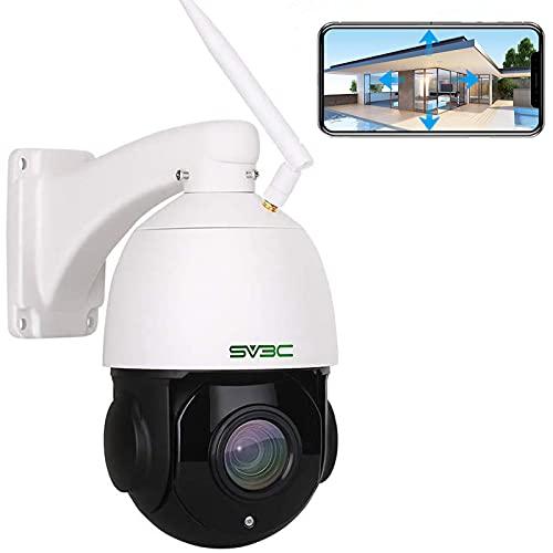 SV3C 5MP PTZ Überwachungskamera Aussen, 20x Fach Optischer Zoom...