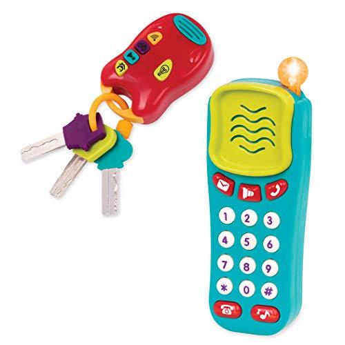 Battat BT2629Z – Spielzeug Schlüssel und Handy mit Lichtern und...