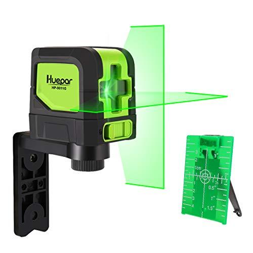 Huepar Kreuzlinienlaser Grün, DIY Linien Laser mit...