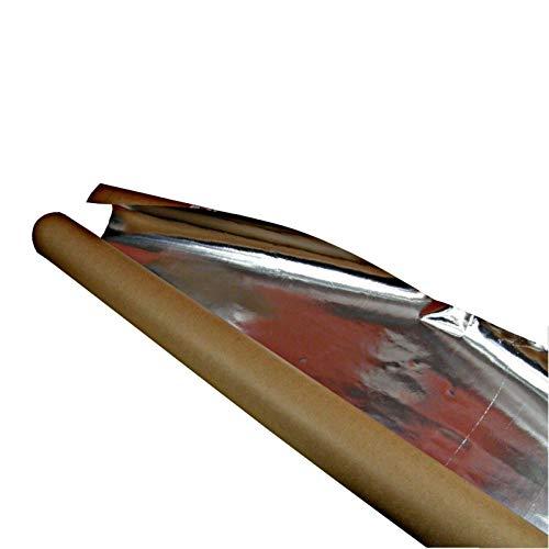 Spezielle robuste Dampfsperre für Saunabau, Aluminiumfolie, Alufolie,...