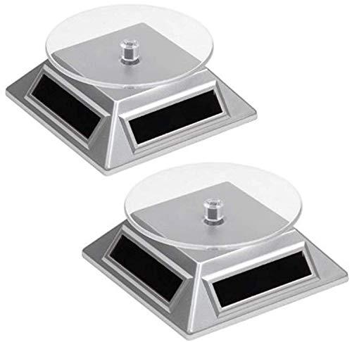 2 Solar Drehteller Drehscheibe für Vitrine | Leistungsstark |...