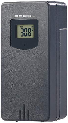 PEARL Zubehör zu Thermometer Außensensor: Funk-Außensensor für...