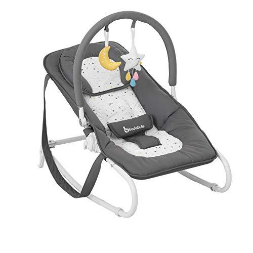 Badabulle Easy Moonlight Babywippe, mit integrierter Kopfstütze,...