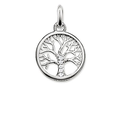 THOMAS SABO Damen Kettenanhänger Lebensbaum Tree of Life 925 Sterling...