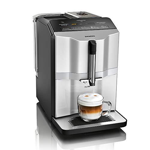 Siemens EQ.300 Kaffeevollautomat TI353501DE, kompakte Größe,...